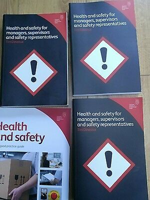 CIEH Health & safety training book guide bundle 6 items
