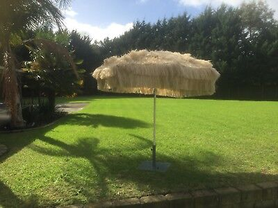 Vintage Grass Top Umbrella ☂