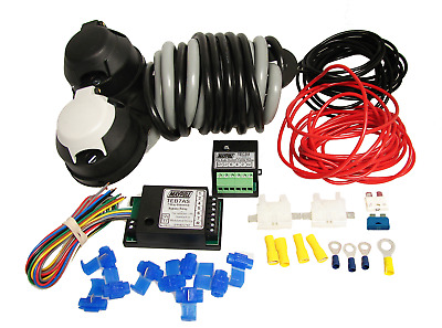 12N & 12S 2Mt W/kit C/w 7 Way Bypass & 30Amp Combi Relay