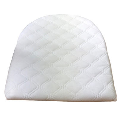 Baby Wedge Pillow AntiReflux Colic Cushion For Pram Crib Cot Bed Flat Head 29x31