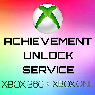 Achievement   Gamerscore Unlock For Any Game of your Choice Xbox 360   Xbox One