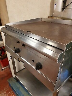 Parry Natural Gas Griddle with Stand