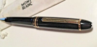 Mont Blanc Le Grand Meisterstück Gold Coated & Resin Rollerball Pen