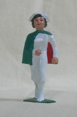WWI Nurse walking, Standard Gauge railroad layout figure, New/Reproduction