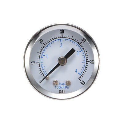"Pressure Gauge 40mm 1.5"" Dial Pneumatic Meter Air Manometer 0-20Bar 0-300PSI"