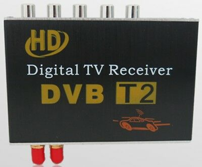 Ouchuangbo Car digital TV DVB-T2 box tuner work in Russia South Africa Colombia