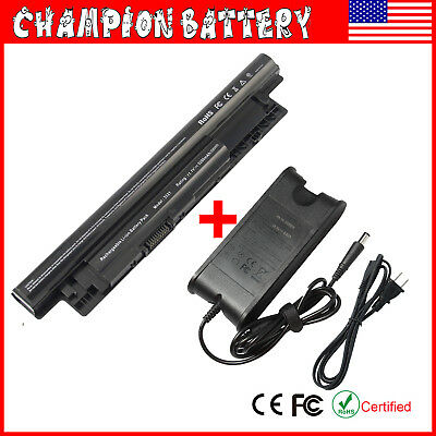 65Wh Battery for Dell Inspiron MR90Y 14R (5421 5437) 15R (3521) / Charger