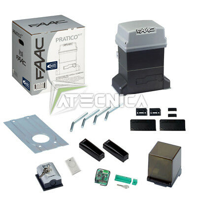 KIT sliding gate FAAC 746 PRACTICAL KIT 10564944 automation 600kg 230V