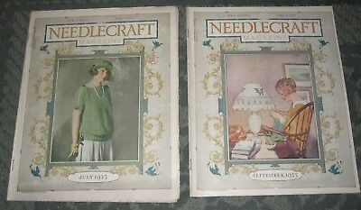 2 July 1923 And September 1923 Publications - Needlecraft