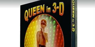 Queen In 3D.. Comes With Bookplate Hand Signed Autographed By Brian May.