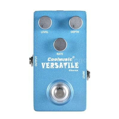 Mini Analog Chorus Electric Guitar Effect Pedal True Bypass Blue Free Ship G0T5