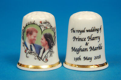 Prince Harry & Meghan The Royal Hochzeitsdatum China Fingerhut B / 57