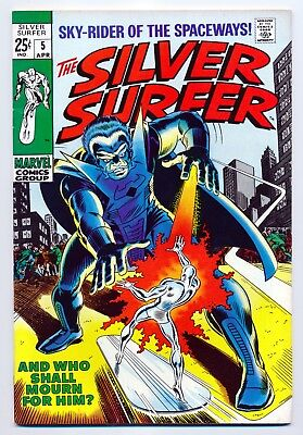 The Silver Surfer #5 (Apr 1969, Marvel)