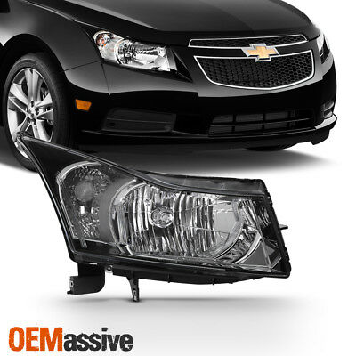 Fit 2013 2014 2015 Chevy Cruze Passenger Side Halogen Headlight Headlamp - Right