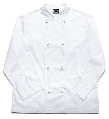 JB's long sleeve Vented Chefs Jacket Long Sleeve White size 3XL