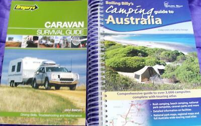 BOILING BILLY'S CAMPING GUIDE to AUSTRALIA + GREGORY'S CARAVAN SURVIVAL GUIDE