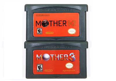 MOTHER 1+2, 3 for Game Boy Advance SP Video Game Cartridge US Version