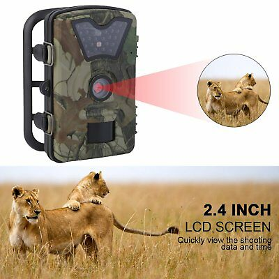 Trail Camera Wireless Farm Security Cam Waterproof Night Vision No Spy Hidden OZ