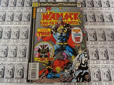 Warlock and Infinity Watch (1992) Marvel - #23, Blood and Thunder, Starlin, VF