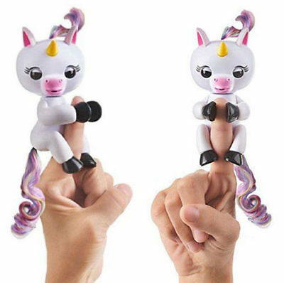 Fingerlings Unicorn Gigi Fingerling Interactive Baby Children Kids Toy WowWee