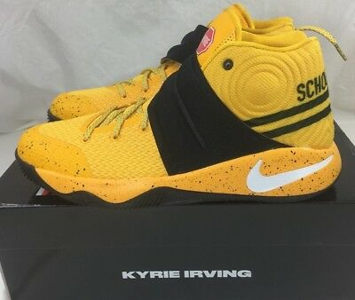 ed8f257ea460 Nike Air Kyrie 2 GS Basketball Shoes Back To School Bus Bus Yellow  826673-700