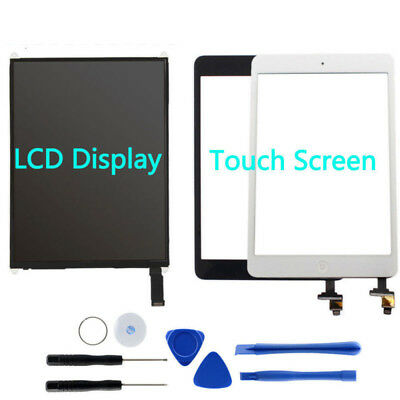 For Apple iPad Mini 1 2 Lot Front LCD Display Touch Screen Digitizer Replacement