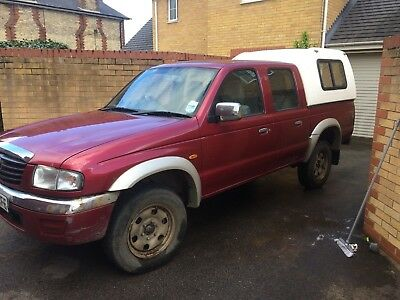 MAZDA B2500 DOUBLE CAB 4X4 2004 Turbo diesel for repair spares ...
