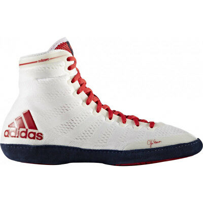 Adizero Wrestling XIV Boxing Boots- Navy/White/Red- Size 12