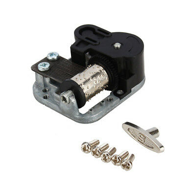 Wind Up Musical Movements Part With Screws Winder Music Box DIY Replacement Sale