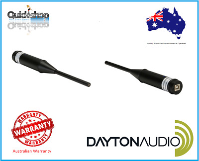Dayton Audio UMM-6 Professional Calibrated USB Microphone connects to PC and Mac