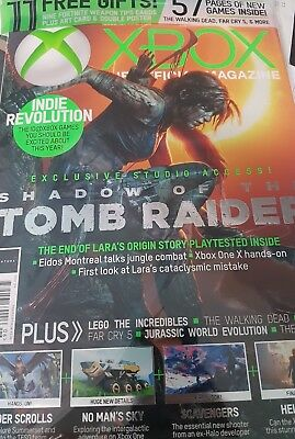 Xbox the official magazine  edition issue 164 with Gifts