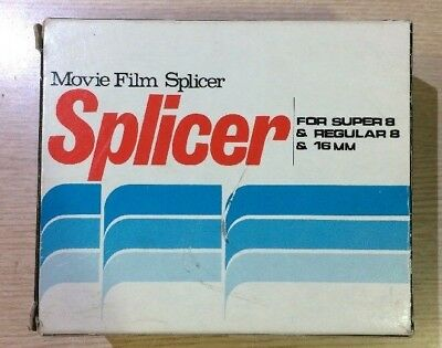 Movie Film Splicer For Super 8 & Regular 8 & 16 Mm Splicer