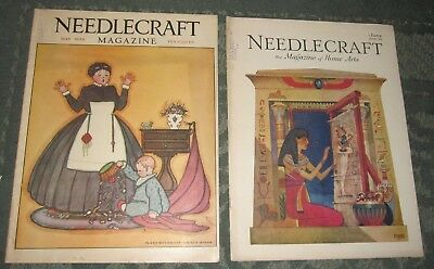 2 May 1929 And June 1929 Publications - Needlecraft