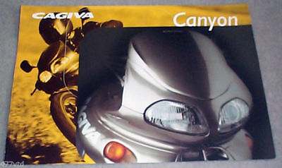 CAGIVA 500cc CANYON 1999ish SALES BROCHURE