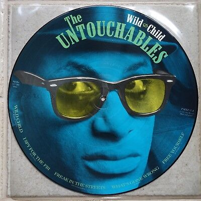 The Untouchables  ‎– Wild Child  Picture Disc LP  Stiff Records ‎P SEEZ 57 → SKA