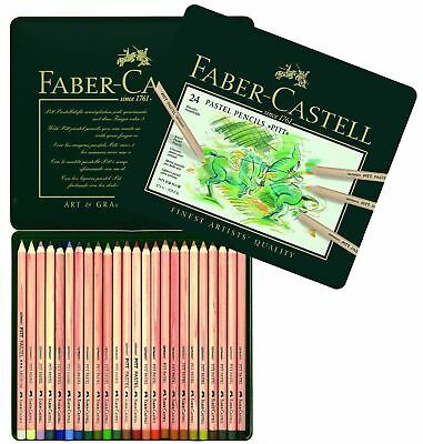 Faber Castell - Pitt Pastel- Artists Quality Pencils - 24 Set