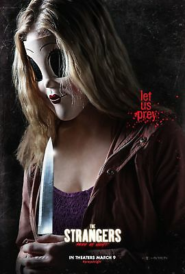 The Strangers Prey At Night Movie Poster 18'' X 28'' ID1