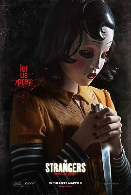 The Strangers Prey At Night Movie Poster 18'' X 28'' ID2