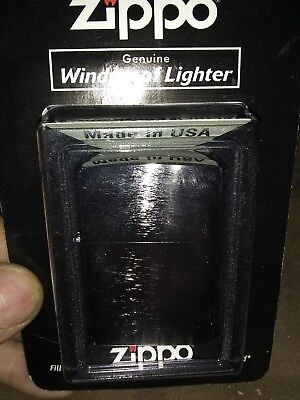 Zippo Brushed Chrome 200 new still in package