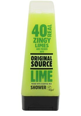 Cussons Lime and Tea Tree Original Source Shower Gel 250ml