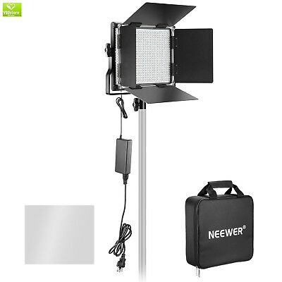 Neewer Dimmable Bi-color 660 LED Video Light with Rechargeable 6600mAh Battery a