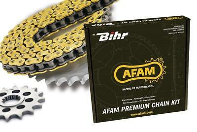 Kit chaine afam 525 type xhr3 (couronne standard) ducati monster 1100 evo
