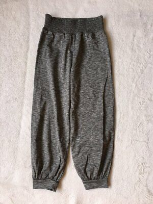 ***Next girls Grey sport cropped joggers 7 years WORN ONCE***