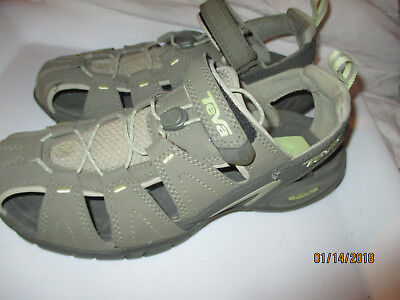 b7335a47b83 TEVA 4173 Dozer III Mermaid shoc pad velcro sport Sandals shOES -BINCSHOE10