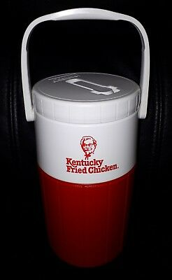 Rare Collectable Vintage Retro Kfc Kentucky Fried Chicken Coleman Drink Cooler