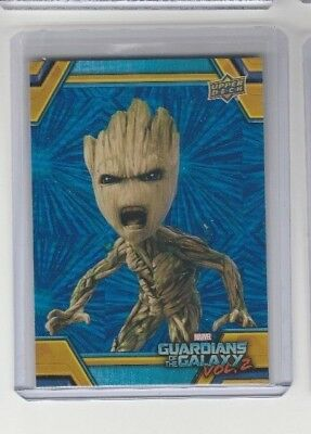 2017 Marvel Guardians of the Galaxy Vol. 2 # RB-20 Groot FOIL