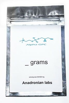 Alpha GPC PURE 99% 20g Powder by Anadronian labs USA
