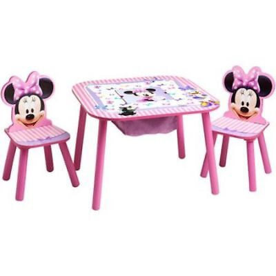 KIDS CHAIR Desk Disney Mickey Mouse Play Table Seat Storage Toddler ...