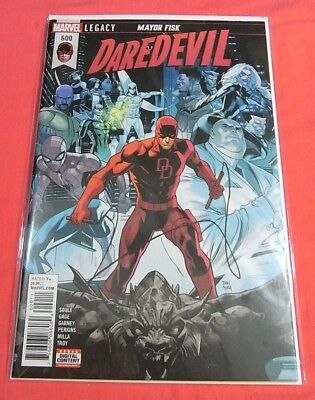 DAREDEVIL #600 - LEGACY Mayor Fisk ! - Bagged & Boarded ..!!