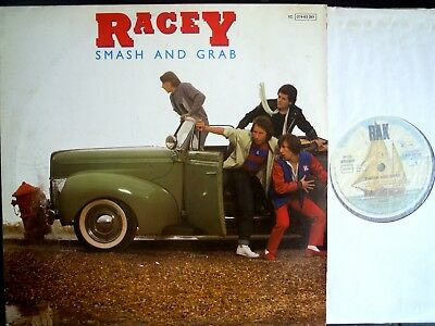 RACEY LP - SMASH AND GRAB - Greatest Hits, NO BARCODE, 1979, Sehr guter Zustand